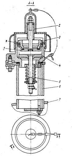 Предохранительно-впускной    клапан