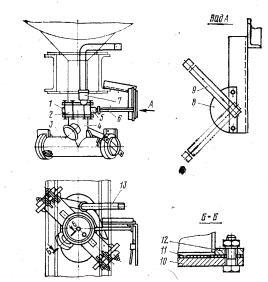 Разгрузочное   устройство   цистерны для цемента