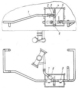 Воздушная   коммуникация   цистерны для цемента