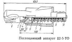 Поглощающий аппарат Ш-5-ТО